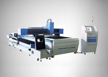 90 m / min Fiber Laser Cutting Machine For Round Metal Pipe / Sheet Cutting